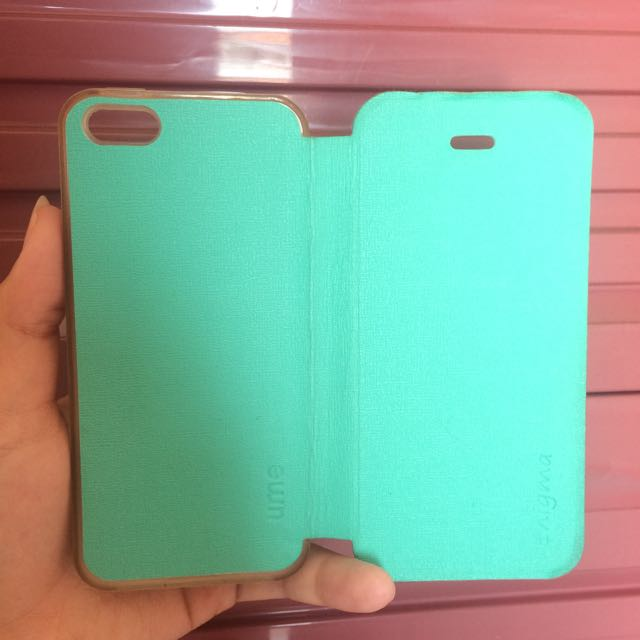 Flip Case For Iphone5s - Hijau Tosca