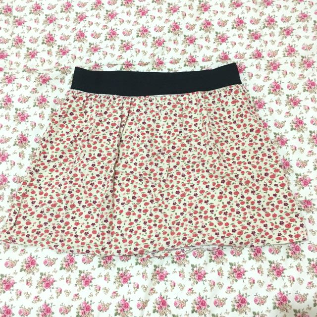 Flowery Summer Skirt