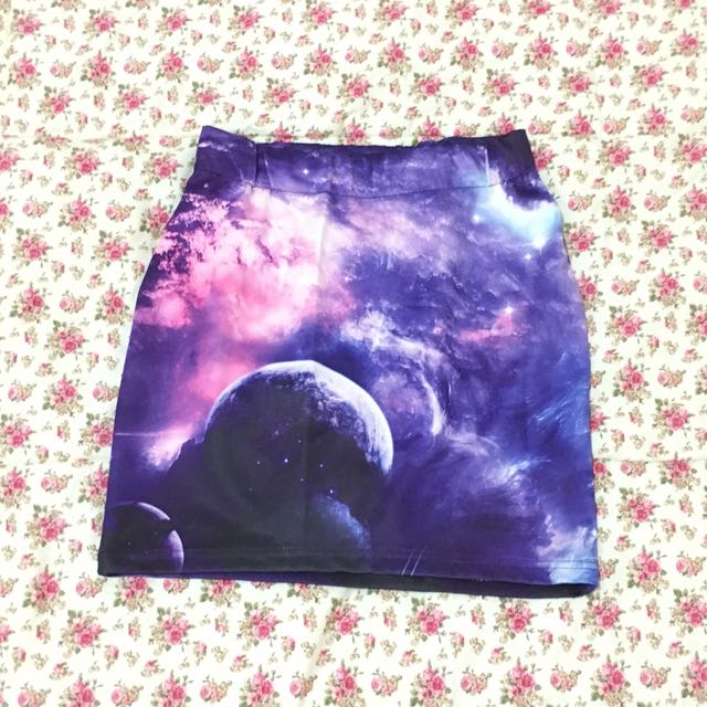 Galaxy Pencil Skirt
