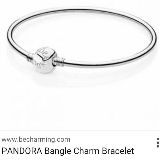 Genuine Pandora Bracelet.