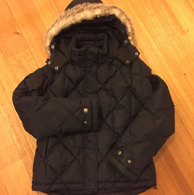 Giordano XS Black hooded Jacket