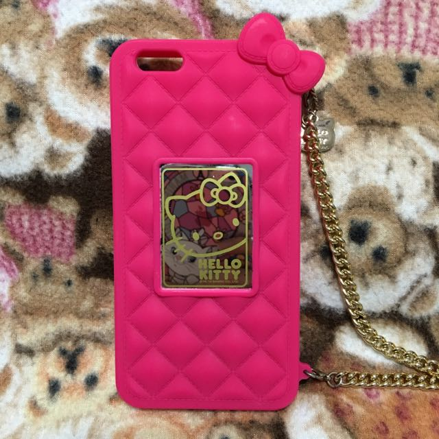 I Phone6s plus5.5HELLO kITTY金鍊手機殼