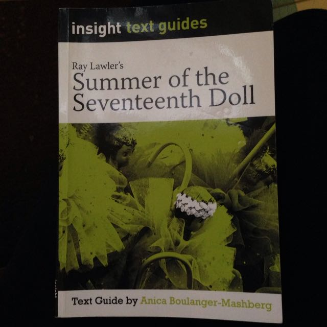 Insight Text Guide For 'summer Of The Seventeenth Doll'
