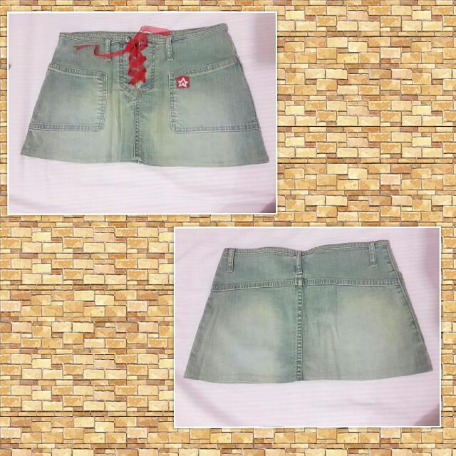 Jeans Skirt EW-008