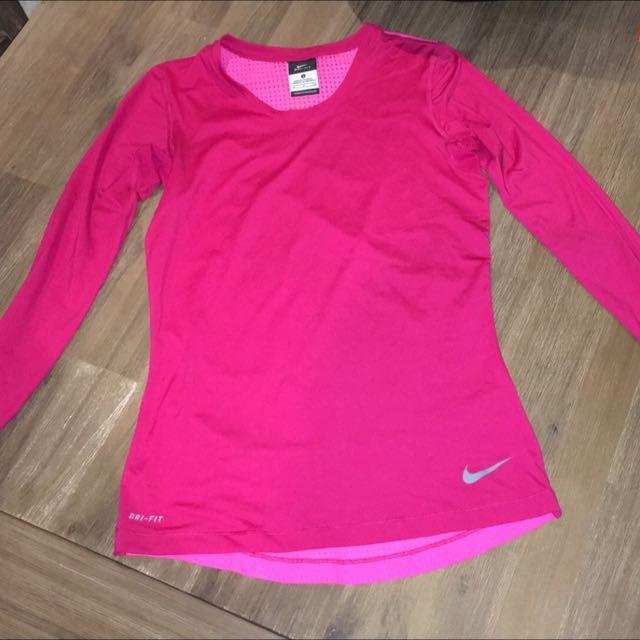 Long Sleeved Nike Active Shirt