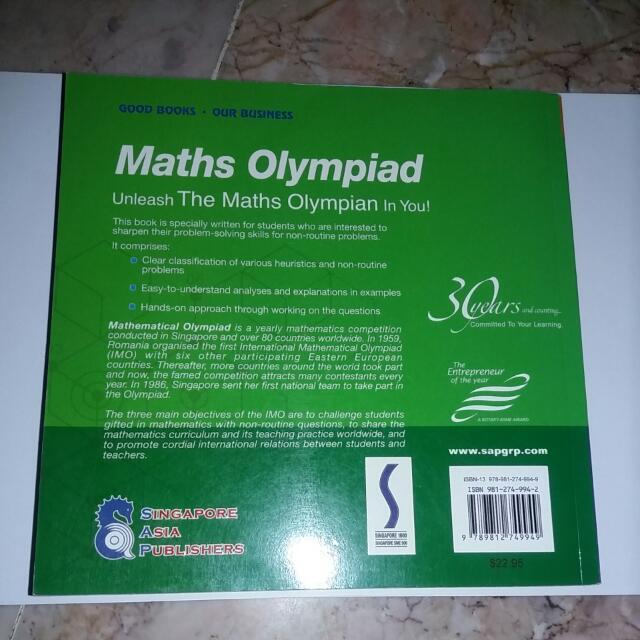 Maths Olympiad Book