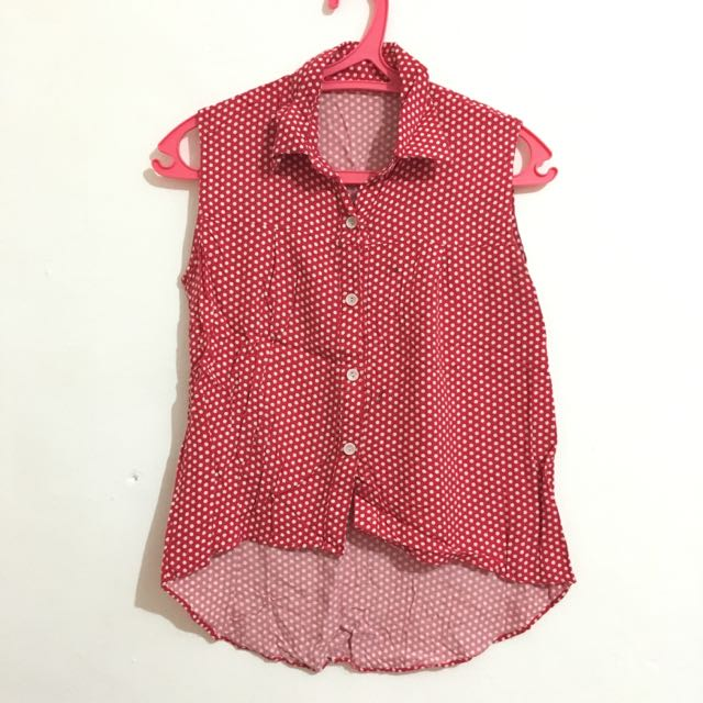 Minne Polkadot Top