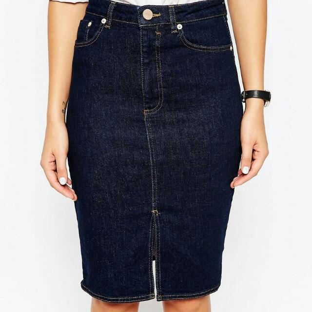 New Denim Skirt size 6