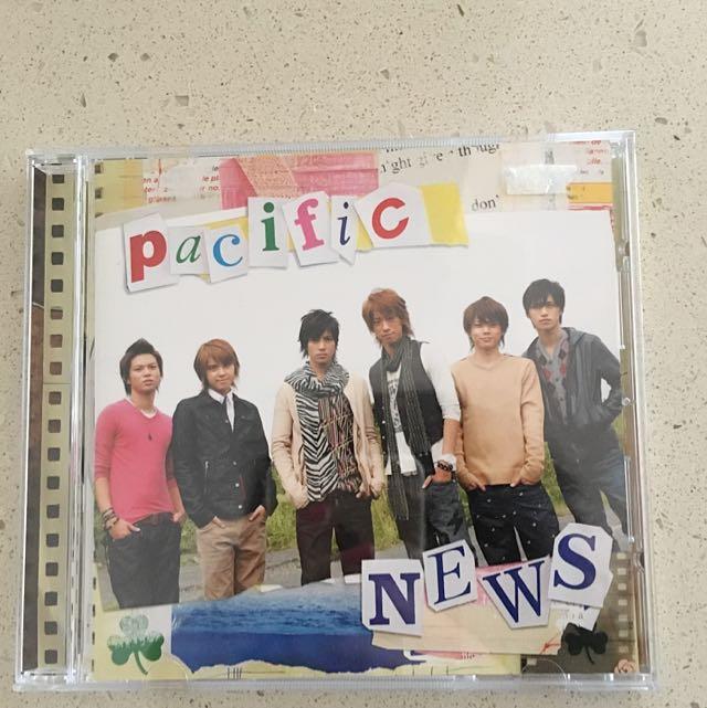 NEWS J-pop Pacific Album