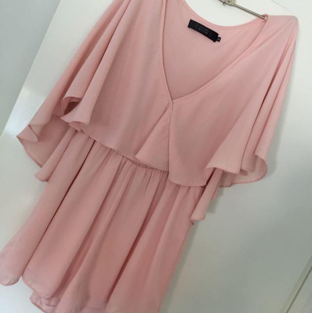 Pastel Pink Play Suit