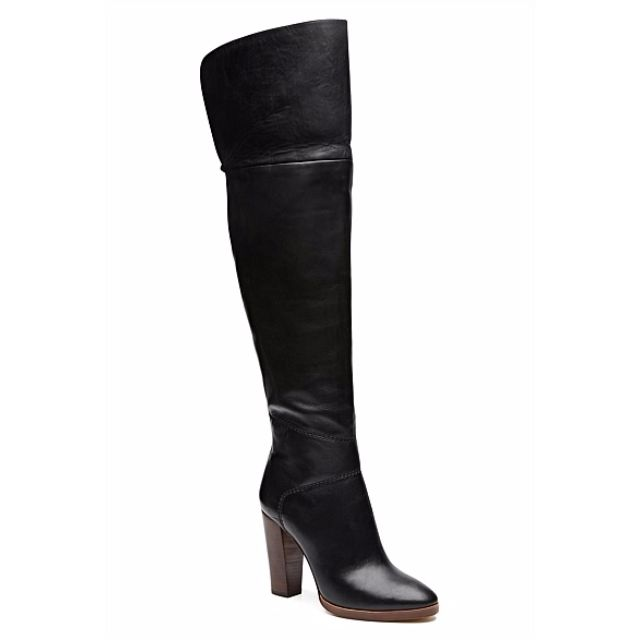 Size 36 Witchery Leather Over the Knee Boots