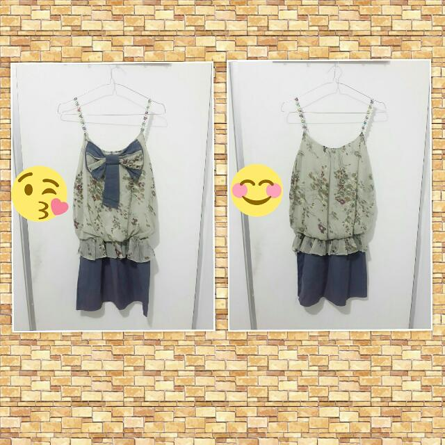 Tanktop Dress Flower EW-005
