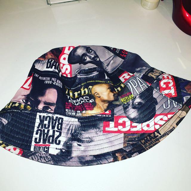 Tupac Bucket Hat