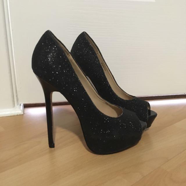 Verali Glitter Heels