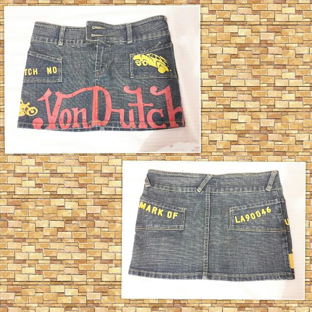Von Dutch Skirt ORIGINAL EW-006