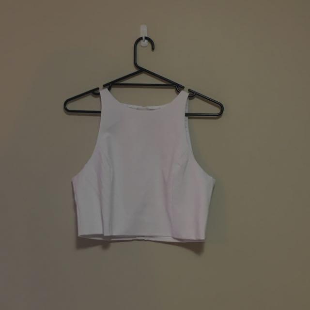 white kookai top