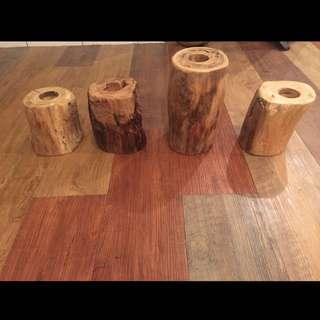 🚚 復工老木真木燭台
