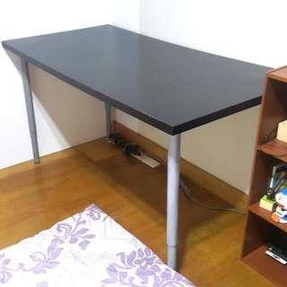 工作桌 桌子 書桌 可調高度 IKEA購買 桌腳可分售 二手