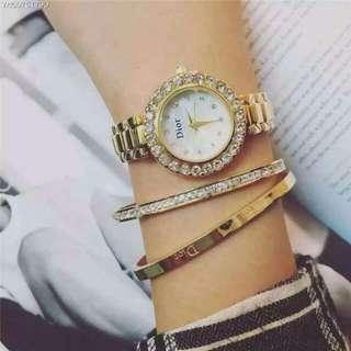 2016代購廠商 Dior女錶 有兩個色喔!