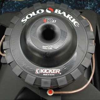 Kicker L7 12inch Solobaric sub for sale