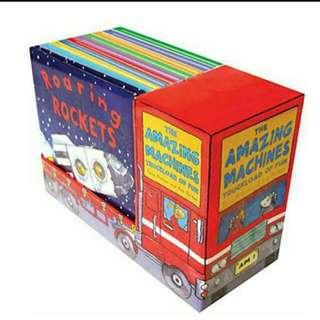 BNIB The Amazing Machines Truckload Of Fun Books