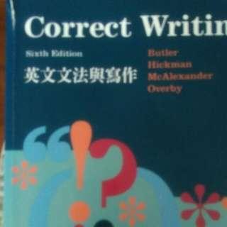 Correct Writing英文文法與寫作