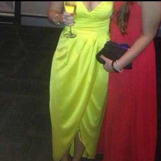 Yellow Sheike Gown