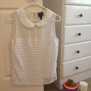 Alice In The Eve Lace Top