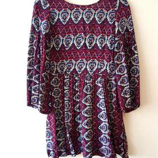 Mika & Gala Size 6 Bohemian Dress