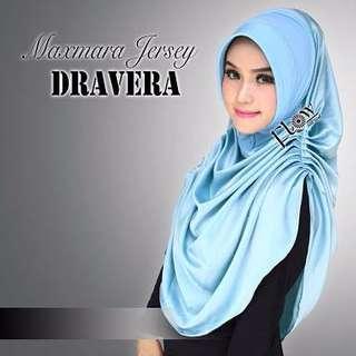 khimar / bergo / hijab /jilbab syari syria dravera