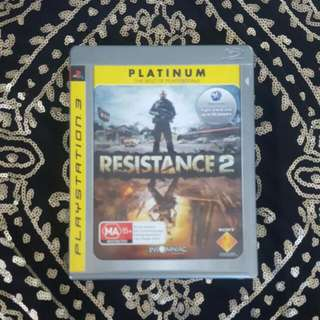 Ps3 Resistance 2 Game - Pre-owned
