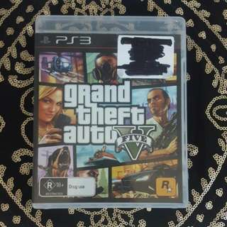 Ps3 Grand Theft Auto Five Game