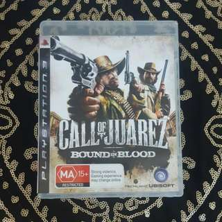 Ps3 Call Of Juarez Bound In Blood Game