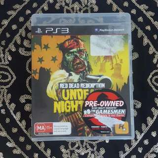 Ps3 Red Dead Redemption Undead Nightmare Game