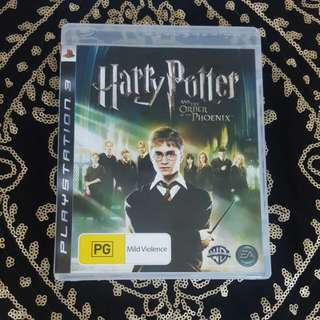 Ps3 Happy Potter And The Order Of The Phoenix Game