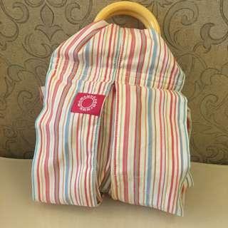 最適合新生兒的mamaway媽媽餵揹巾僅拆封試用一次9.9成新背巾