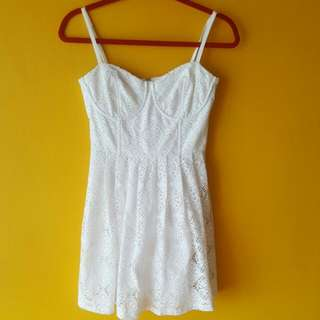 Love Bonito Crochet Dress