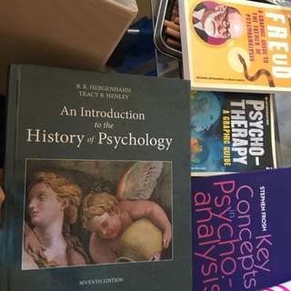 Psychology + Counselling Textbooks