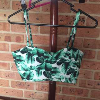 Green And White Crop