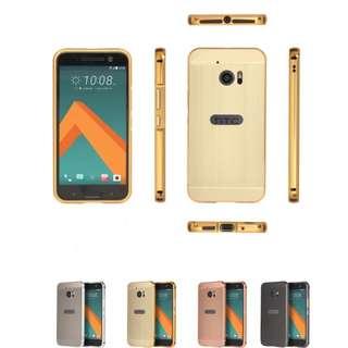 HTC 10 m10 金屬框 背板 鋁合金 邊框 全包 保護 手機殼 保護殼 手機套