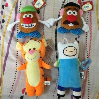 (全新)玩具總動員彈頭先生票卡吊飾 跳跳虎 探險活寶阿寶