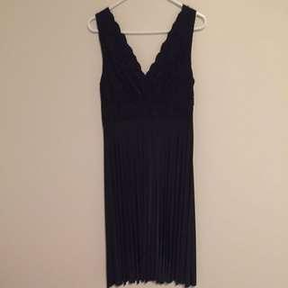 Knee Length Classy Black dress