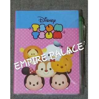 🎉AVAILABLE NOW TSUM TSUM Notebook Mickey w Minnie n Friends