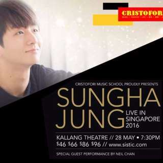 [Discounted] Sungha Jung Live in Singapore 2016 with Special Guest Neil Chan