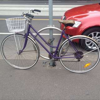 Vintage Purple Bike
