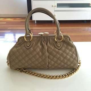 Genuine Marc Jacobs Stam Bag...Beige/Gold Hardware