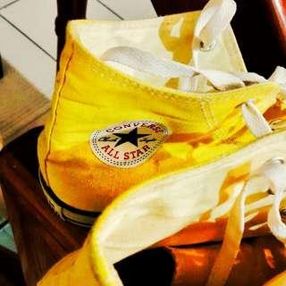 [直接五折 降價]Converse 夏日特別色 陽光黃 帆布鞋