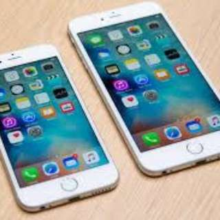 iphone 6S and iphone 6S plus (64gig)