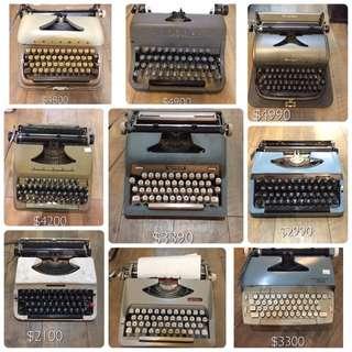 妳在找打字機嗎?