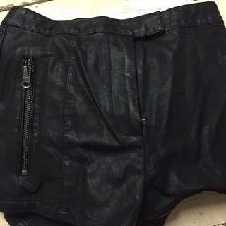 Bardot Leather Short